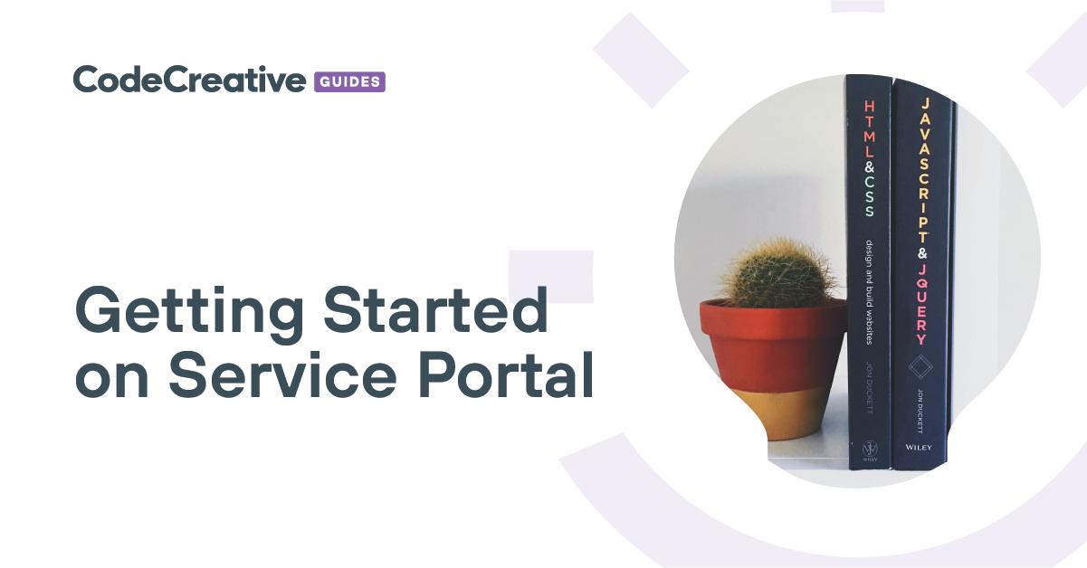 Exercise: Branding the Portal | CodeCreative | A ServiceNow Blog